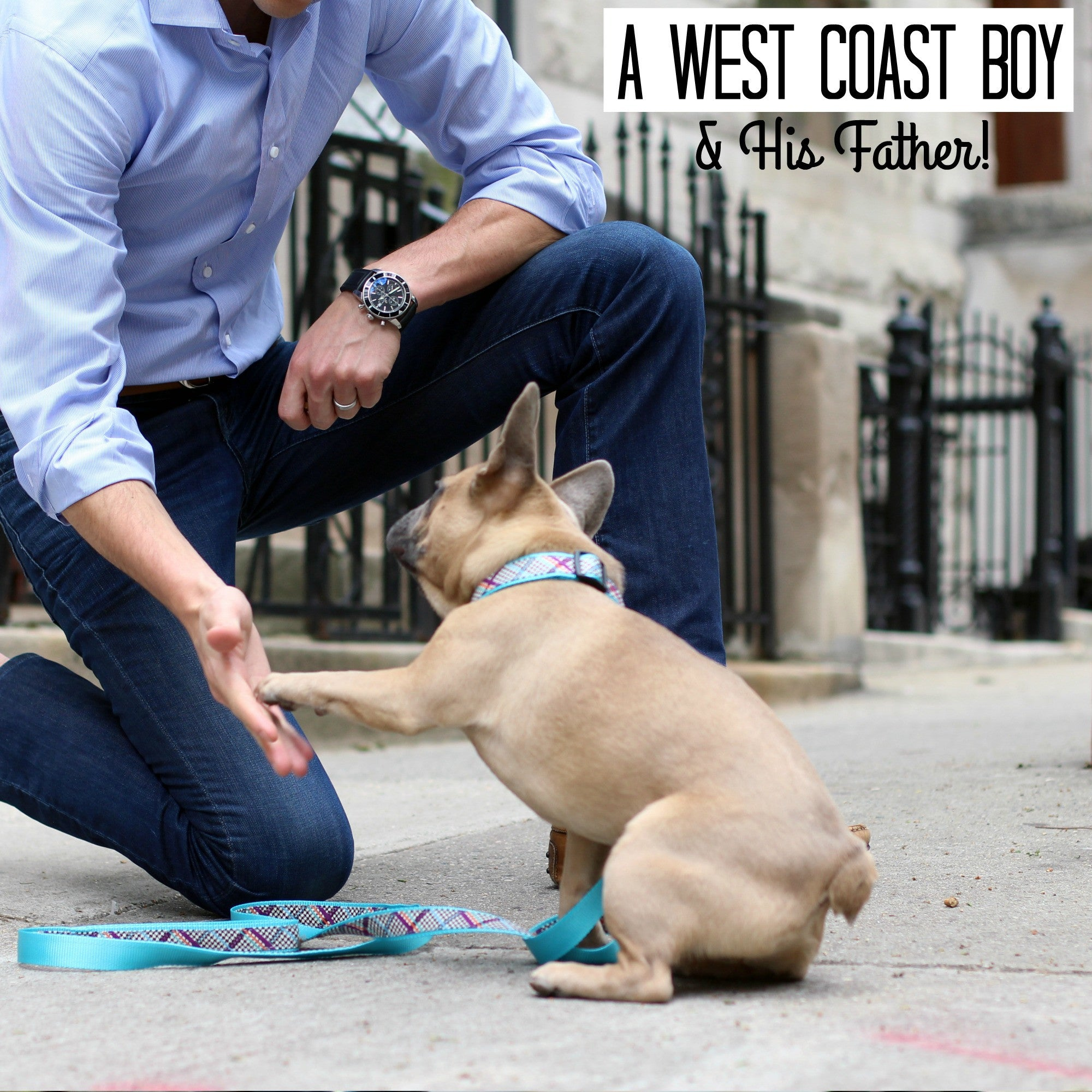A West Coast Boy and His Father  - Gilbert and Benny!