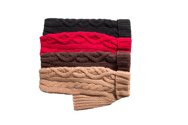 Nantucket - Hand Knitted - Wool Dog Sweater - 4 Color Options