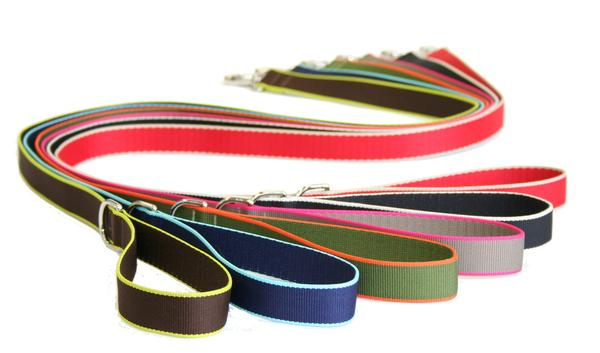 Nylon Leashes - Colorful Eco Friendly - 6 Color Options