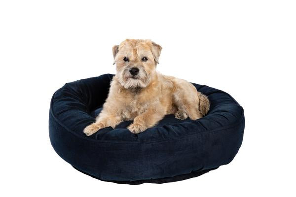 Canine Styles - Corduroy Navy - Dog Bed