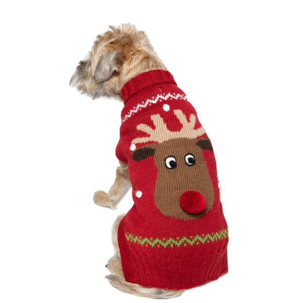 Holiday | Reindeer Dog Sweater