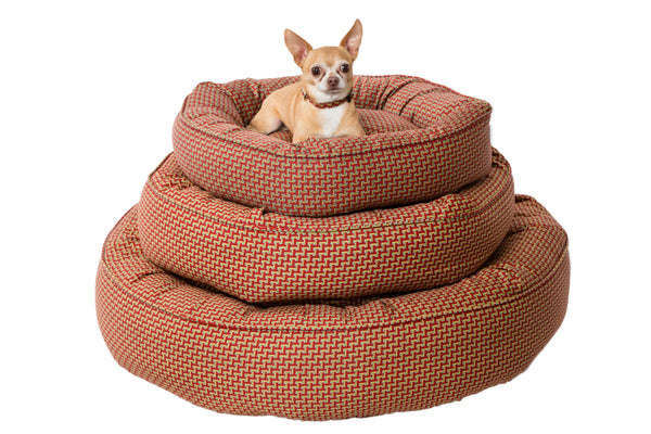 Canine Styles - Tuscan Pattern - Nesting Bed - Dog Bed