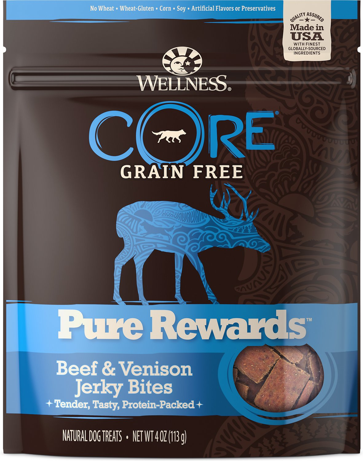 Pure Rewards - Wellness Treat - Dog  Treat - Training Treat - 4 Flavors - USA
