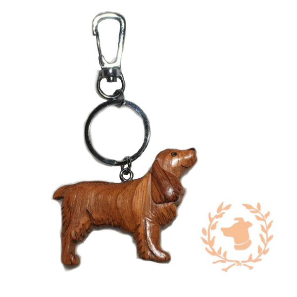 Keychain - Cocker Spaniel - Dog Keychain