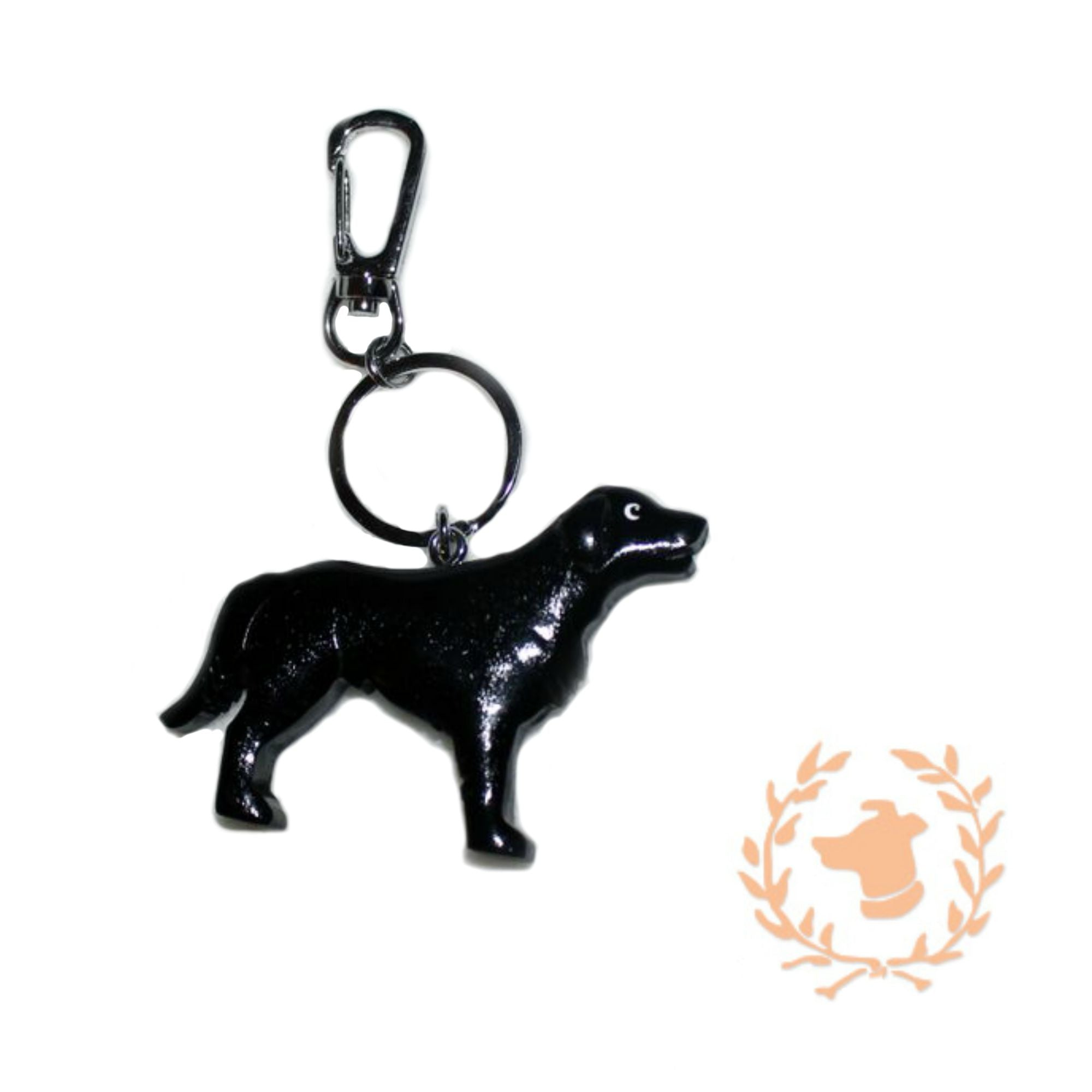 Keychain - Black Lab - Dog Keychain