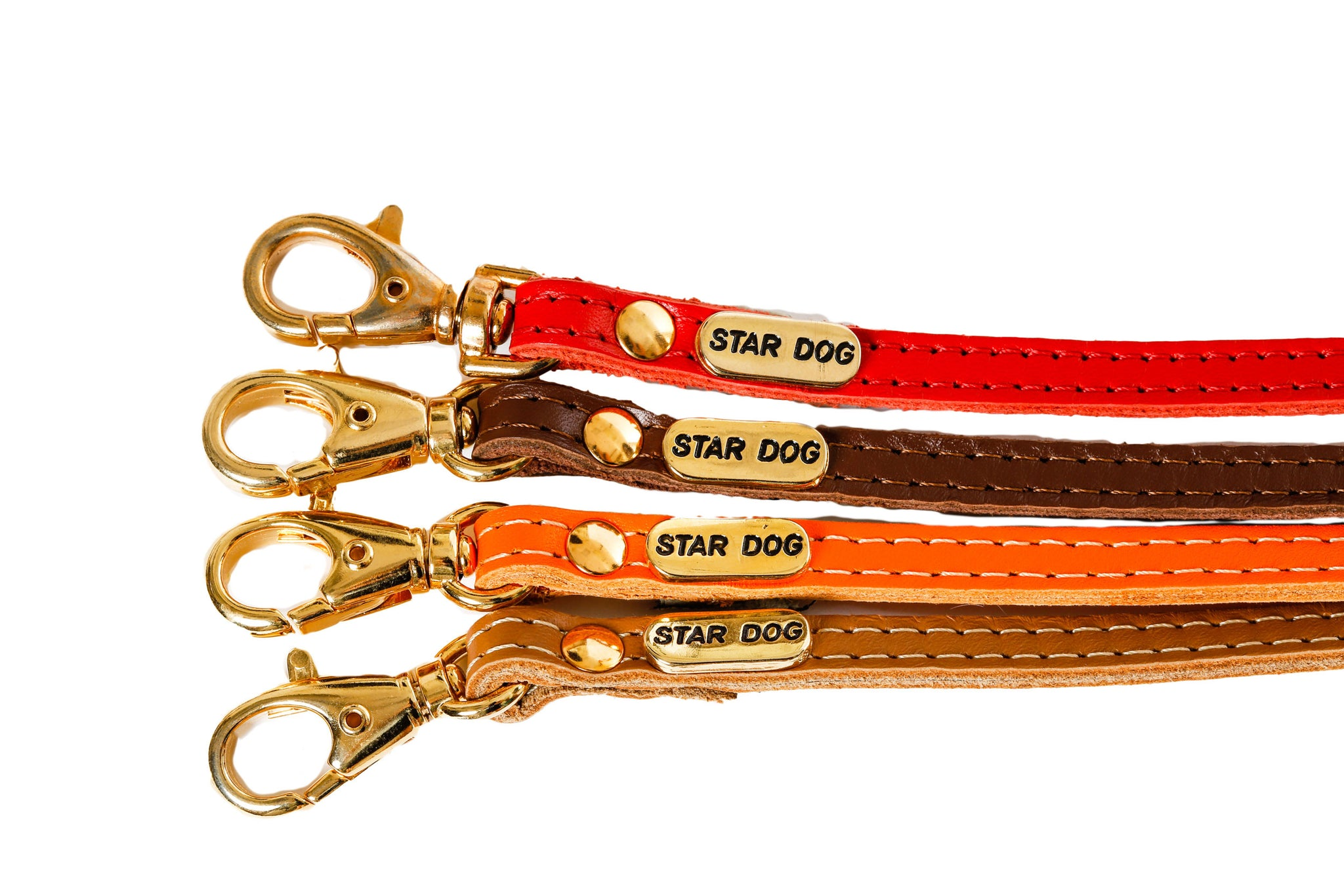 Jophi Lead - Dog Leads - Soft Leather - 7 Color Options
