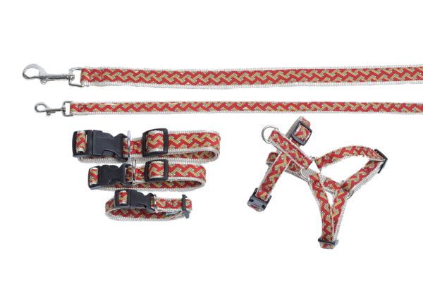 Signature Collection - Dog Collars, Harnesses, & Leads - Orange Tuscan