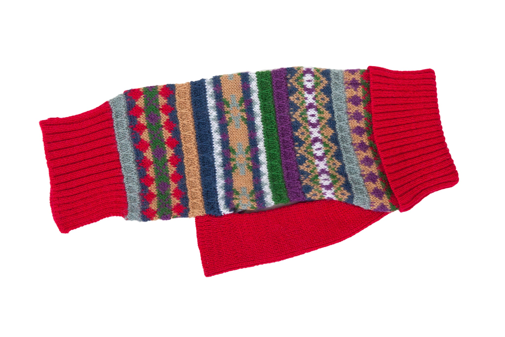 Wool - Buttermilk Red Dog Sweaters