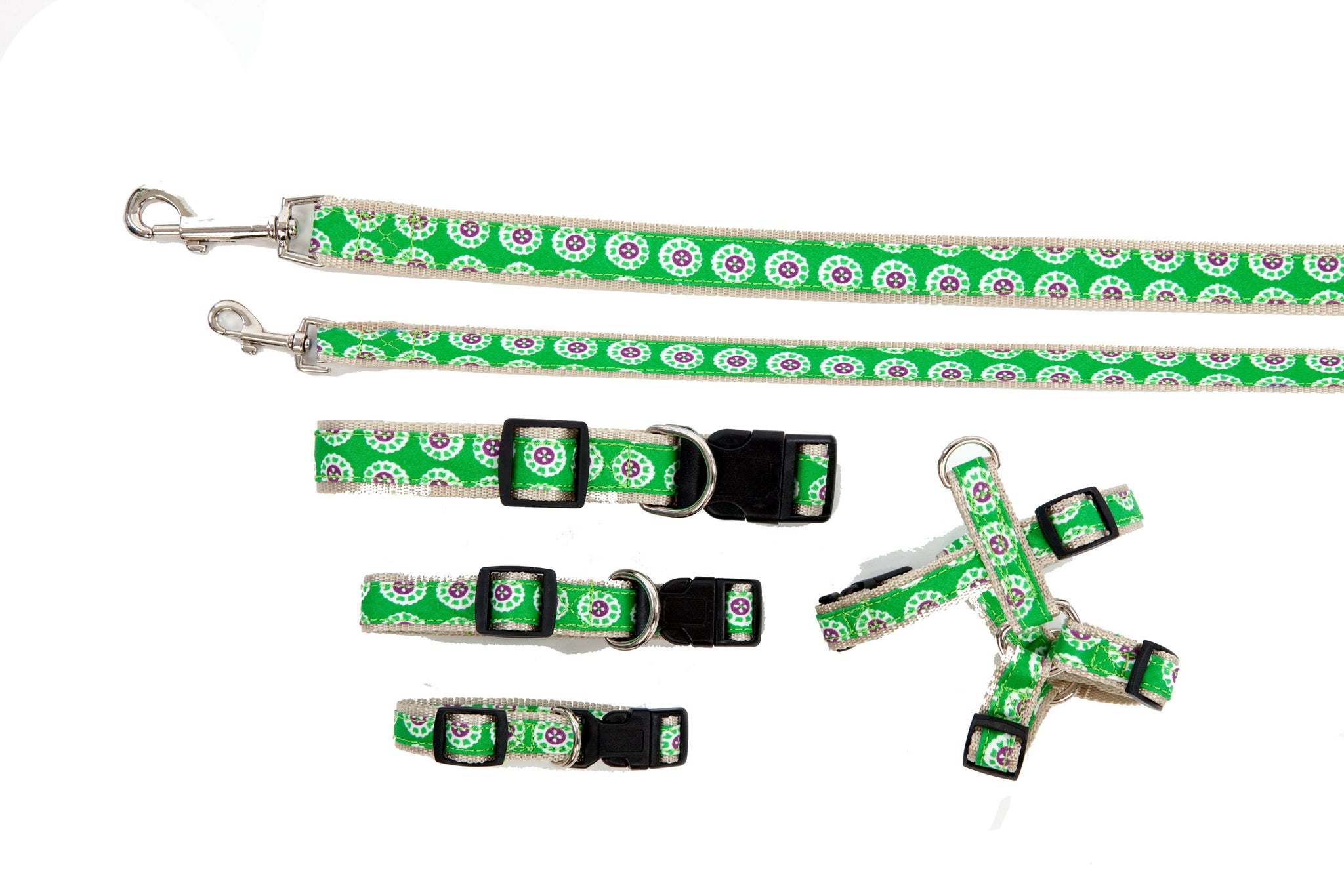 Signature Follard Collection - Collars, Harnesses & Leads - Follard Green
