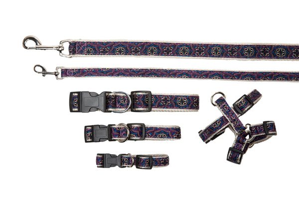 Signature Collection - Dog Collars, Harnesses & Leads - San Marco Purple - NEW!