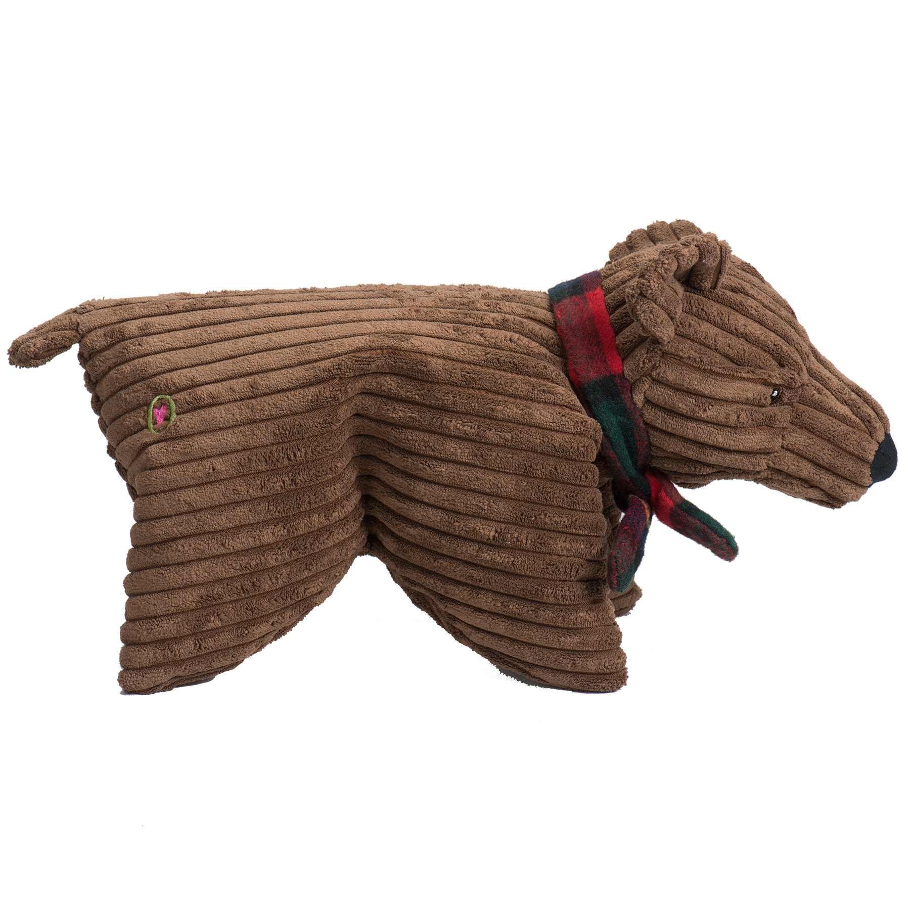 Holiday Bear - Corduroy Squooshie Brown Bear, Small