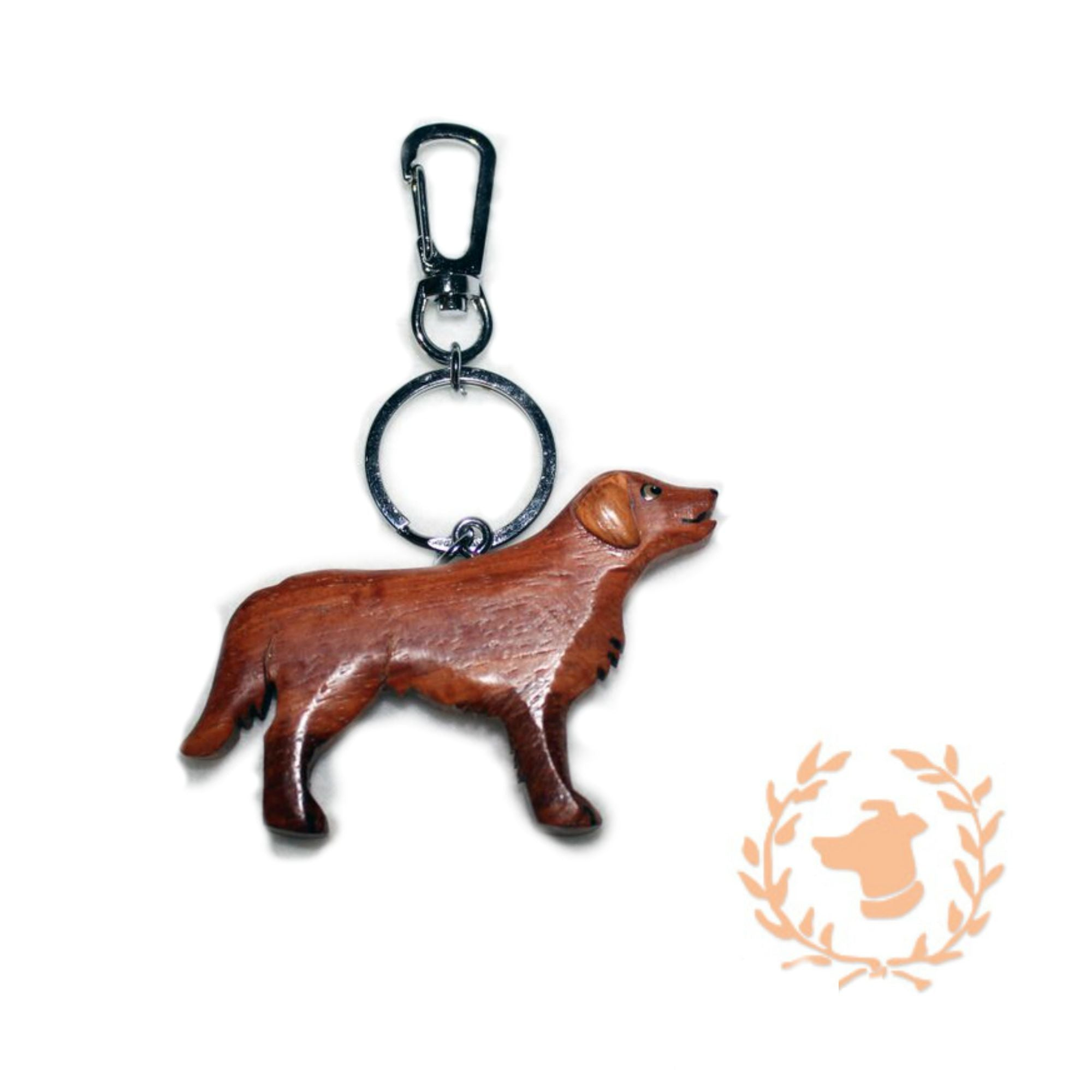 Keychain - Retriever - Dog Keychain