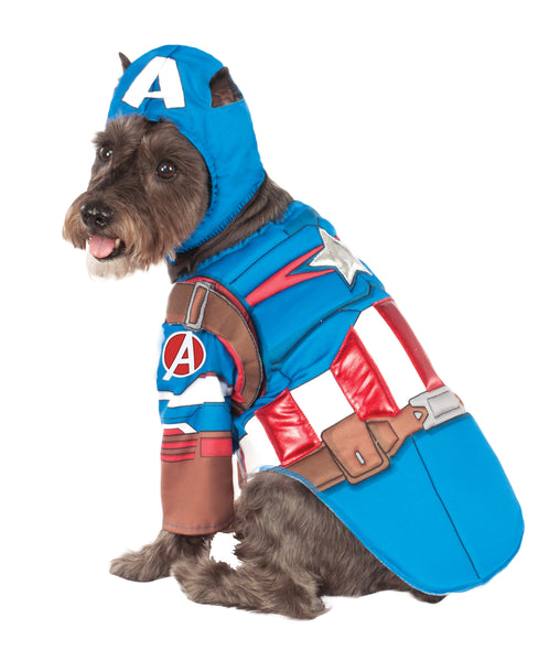 Dog Halloween Costumes | CAPTAIN AMERICA