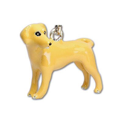 Breed Keychain Yellow Lab