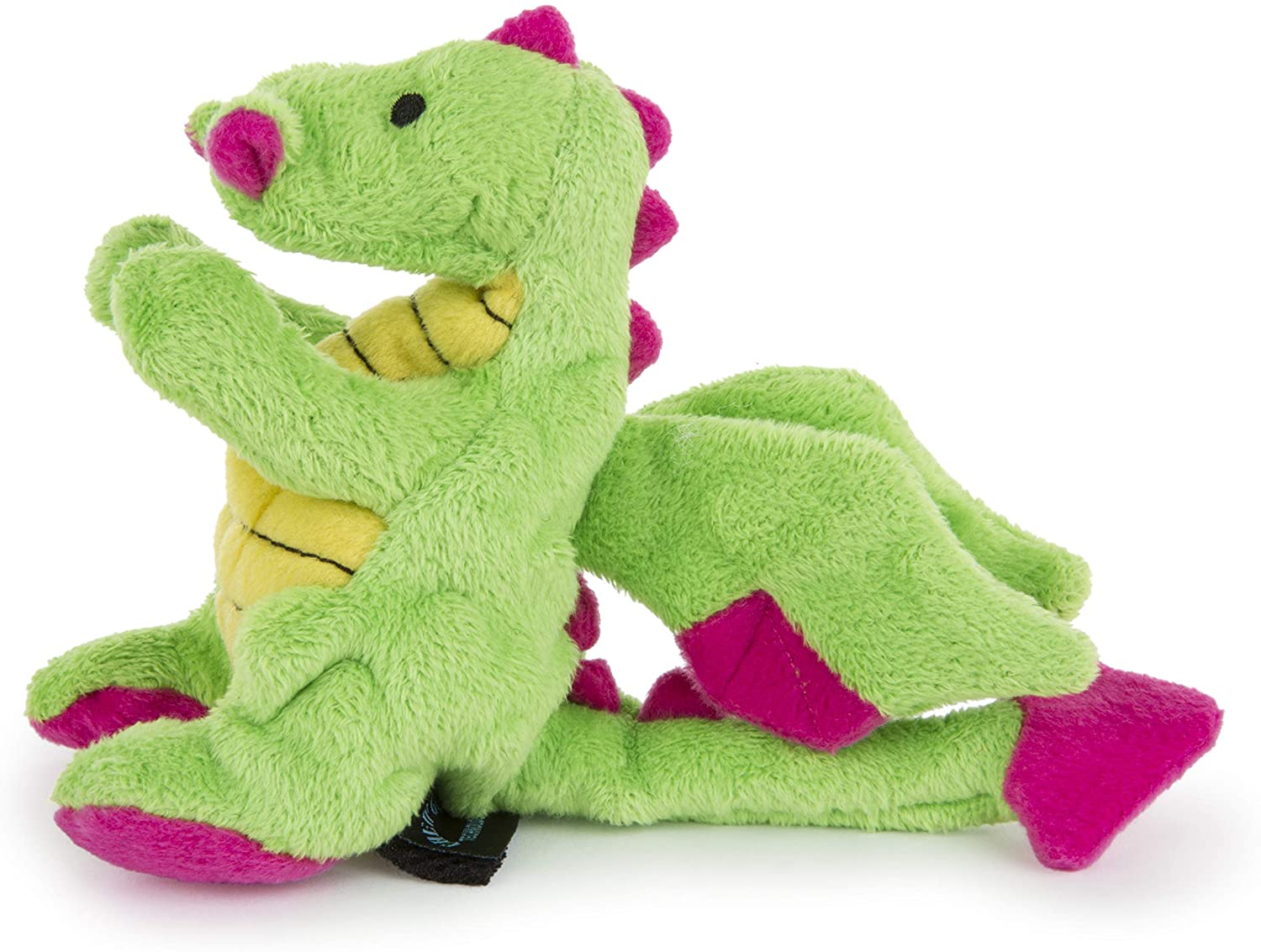 Dragon - Plush Squeaker - Dog Toy - Color Varies