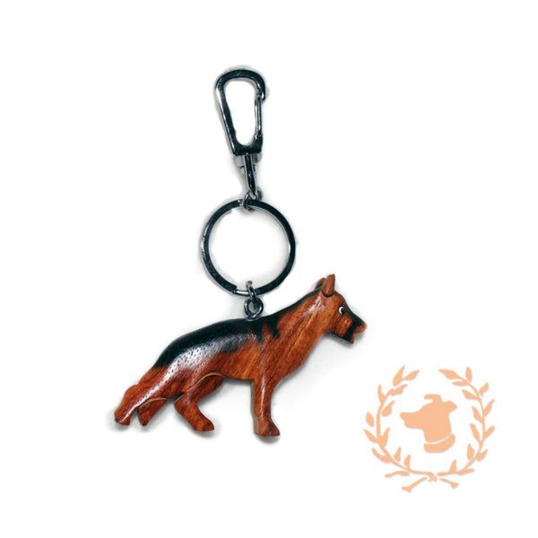 Designer Dog Keychain - German Shepherd