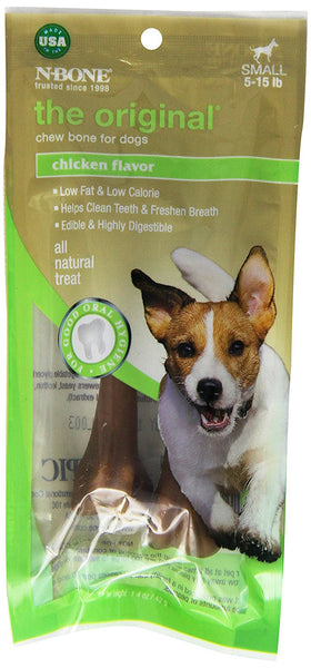 Natural Teething Bone - Dog Chew - Dog Treat - Dog Bone - USA