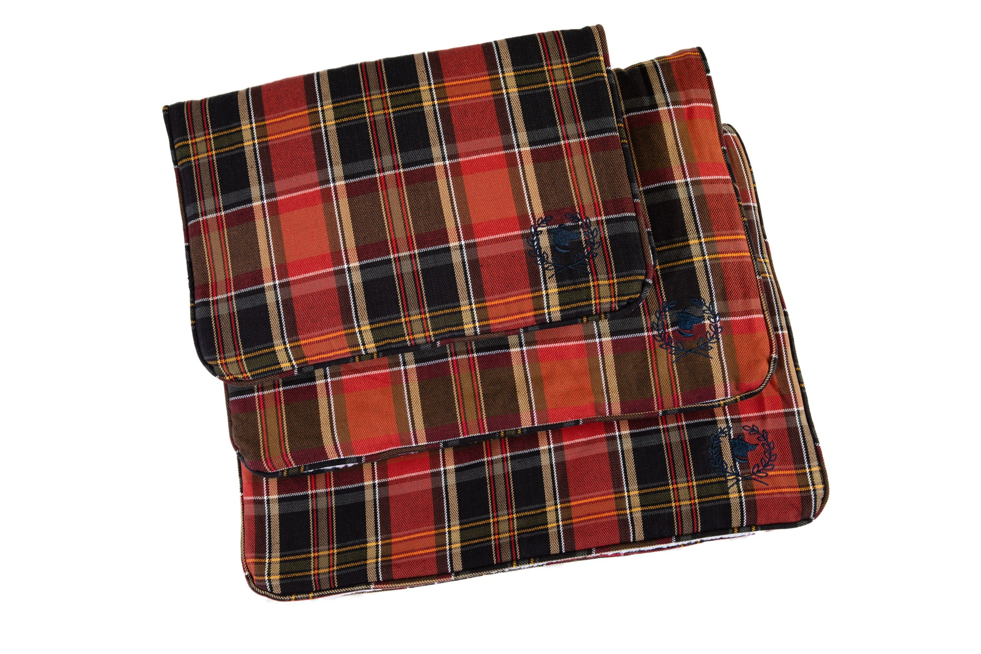 Canine Styles - Crate Mat - Maclaughlin Red Plaid