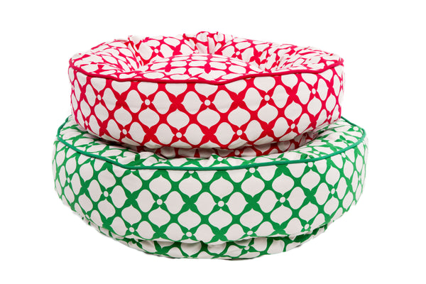 Canine Styles - Pink Spades - Green Spades - Nesting Bed - Sale - Dog Bed