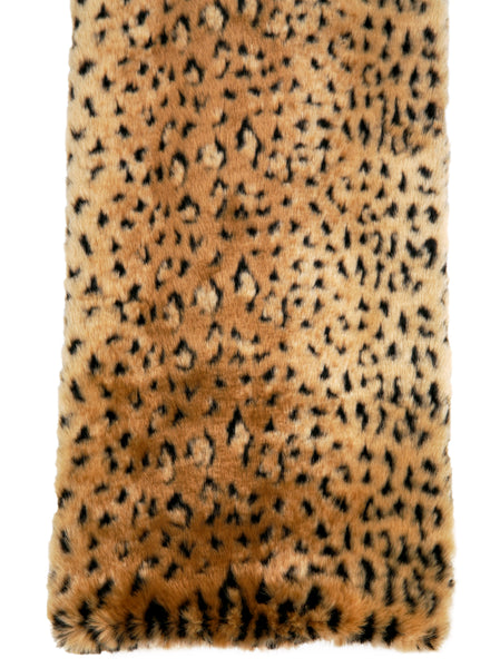 Soft Faux Fur - Leopard Blanket - Dog Blanket