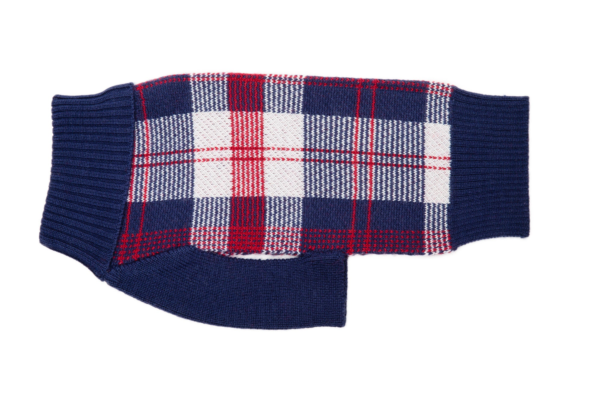 Dog Sweater - CS - Blackcomb Plaid Dog Sweaters