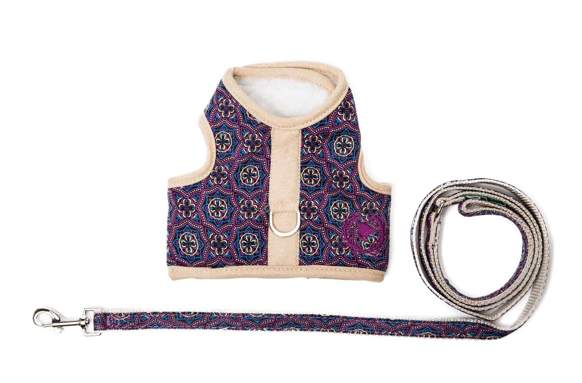 Signature Collection - Dog Harness Vest & Lead - Sherpa LINED Body - 3 Color Options