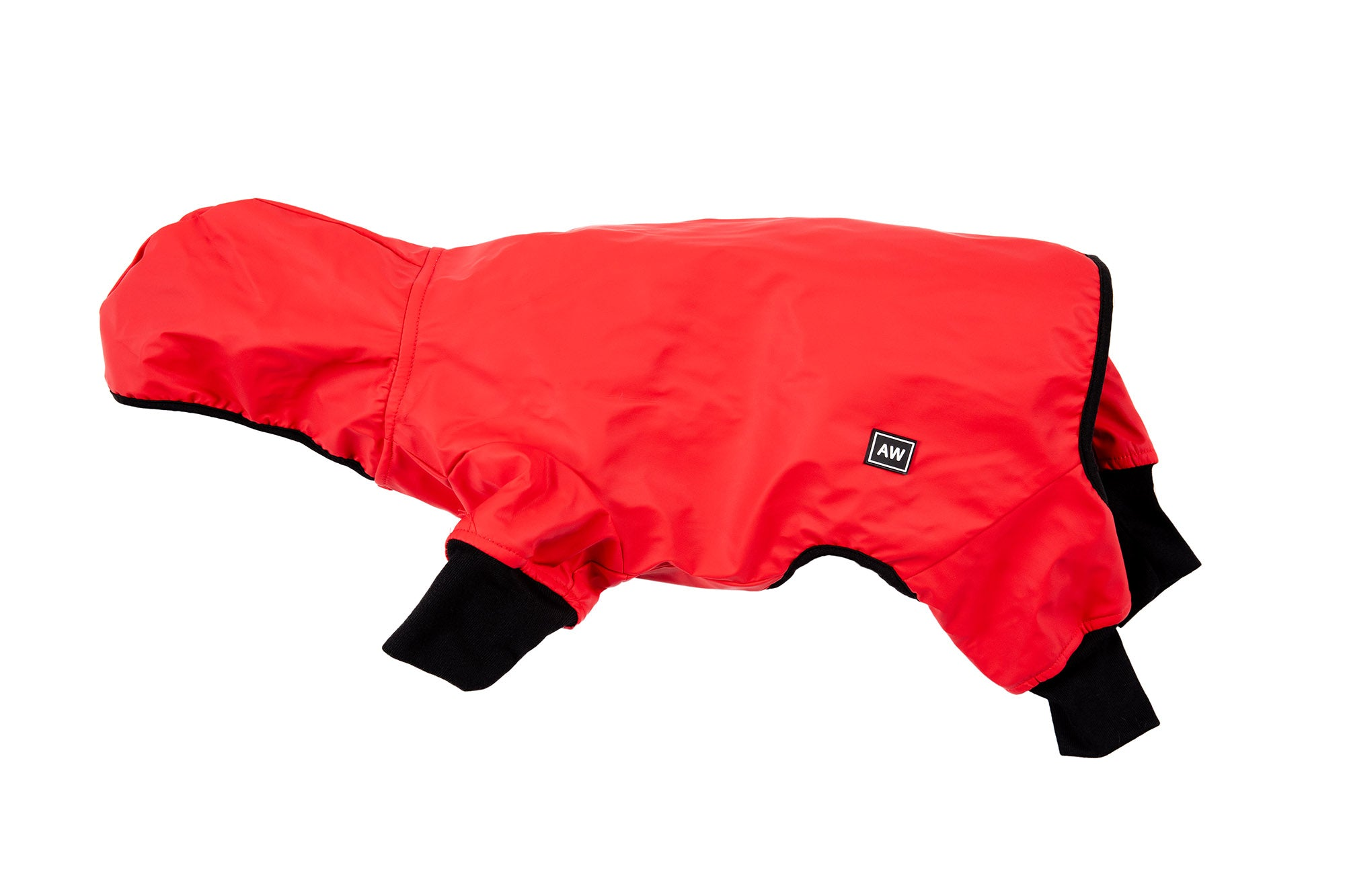 Snow Suit - Red & Black