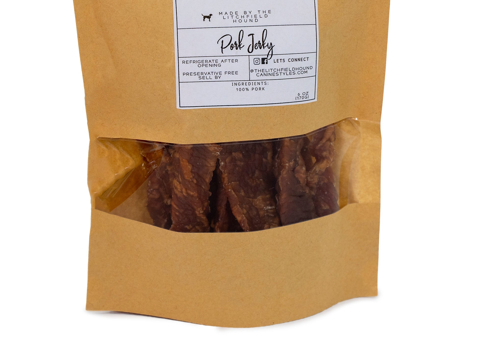 Canine Styles - Pork Jerky - Dog Treats
