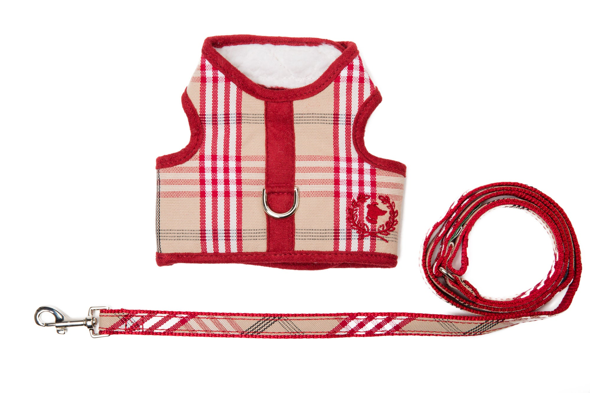Signature Collection | Dog Body Harness Vest | SHERPA LINED Plaids | 5 Color Options