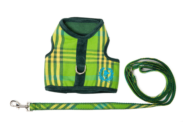 Canine Styles Body Harnesses UNLINED in Signature Plaids - NEW!!