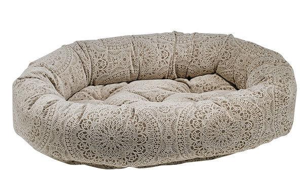 Microvelvet - Chantilly Dog Bed - Donut Bed