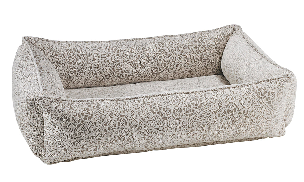 Lounger - Microvelvet - Chantilly - Dog Bed