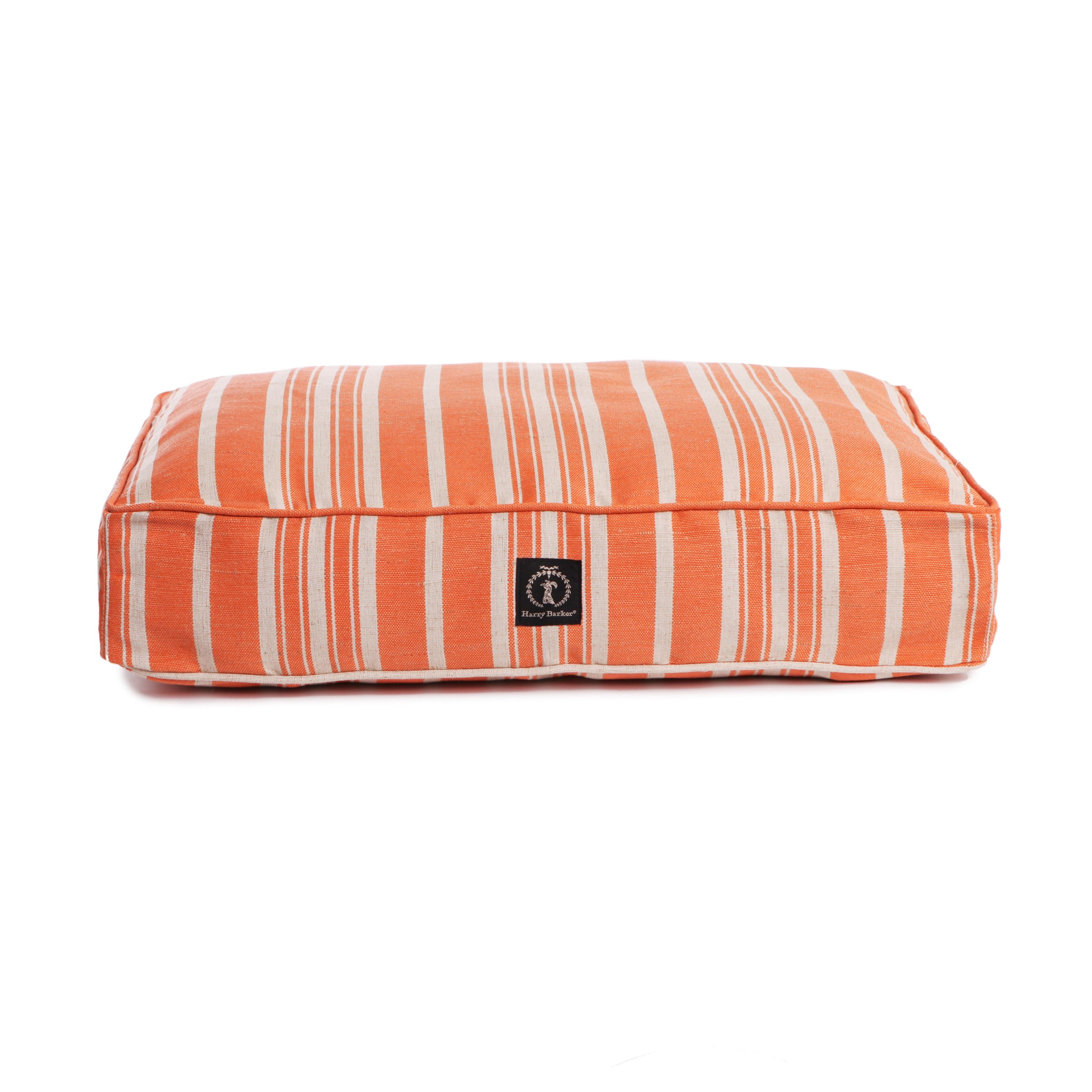 "Rectangle Hemp Cushion Replacement - ""COVER ONLY"" -  Striped Cover - 5 Colors"