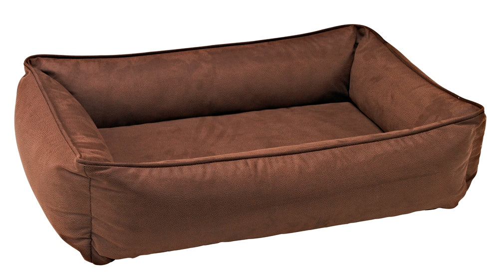Lounger - Cowboy Faux Leather - Dog Bed