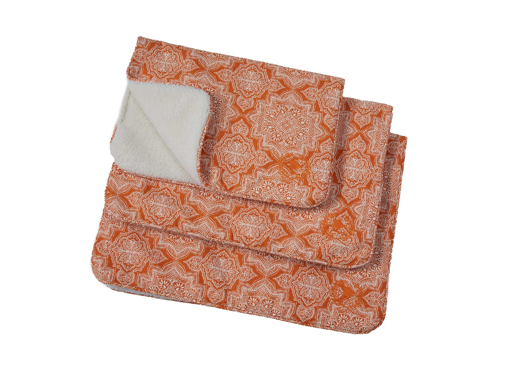 Canine Styles - Crate Mat - Curacao Orange