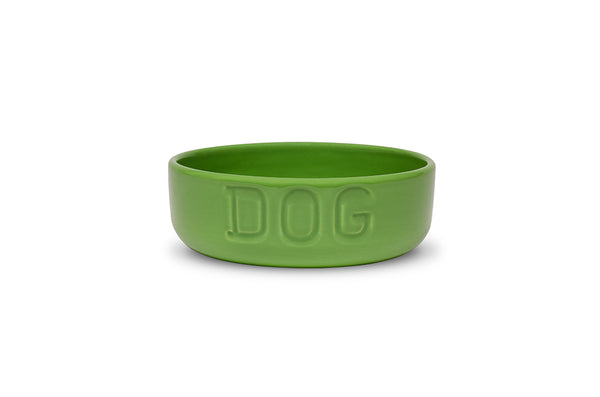 Bauer Pottery - Dog Bowl - 7 Color Options