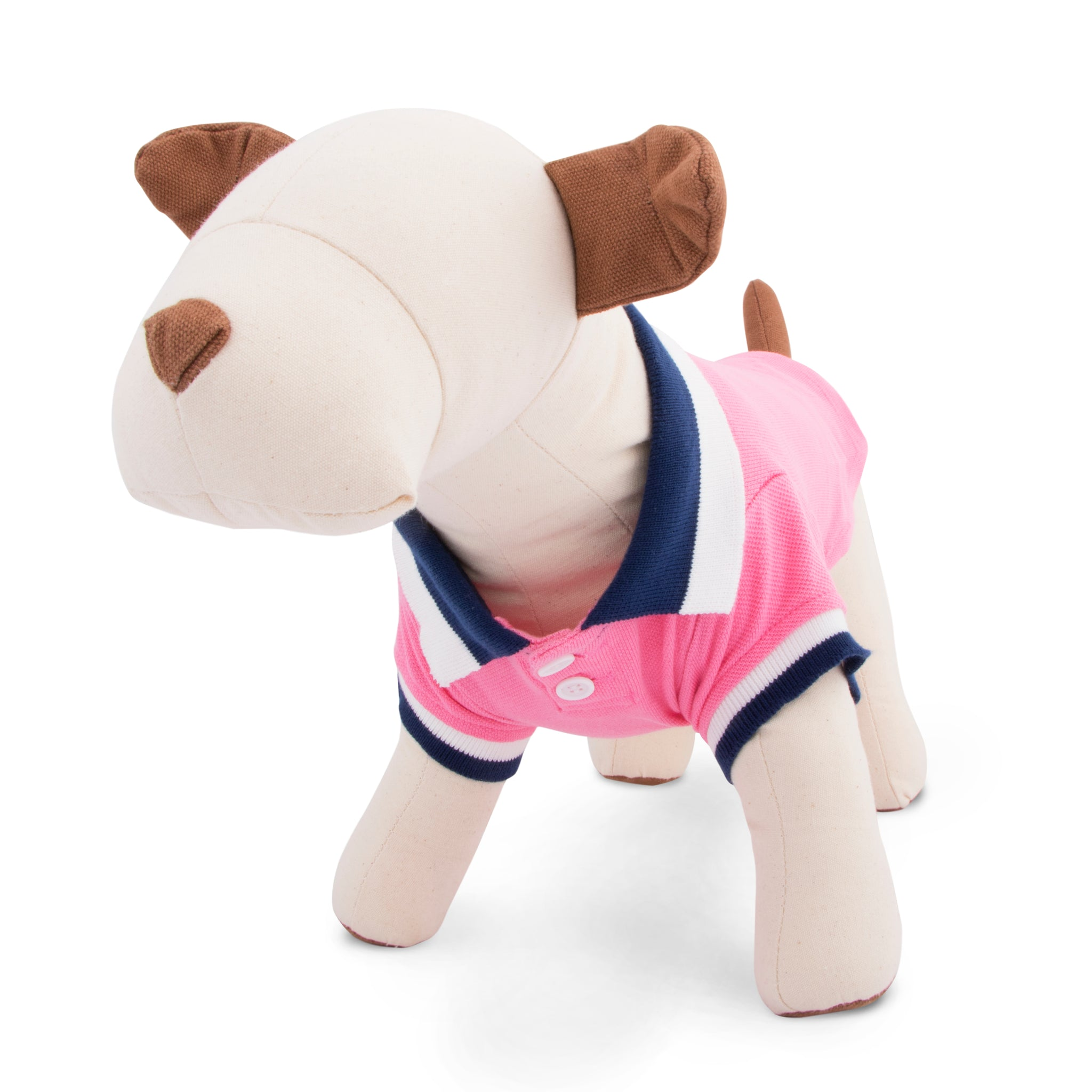 Dog Clothes | Pink or Navy Polo Shirt | Dog Shirt