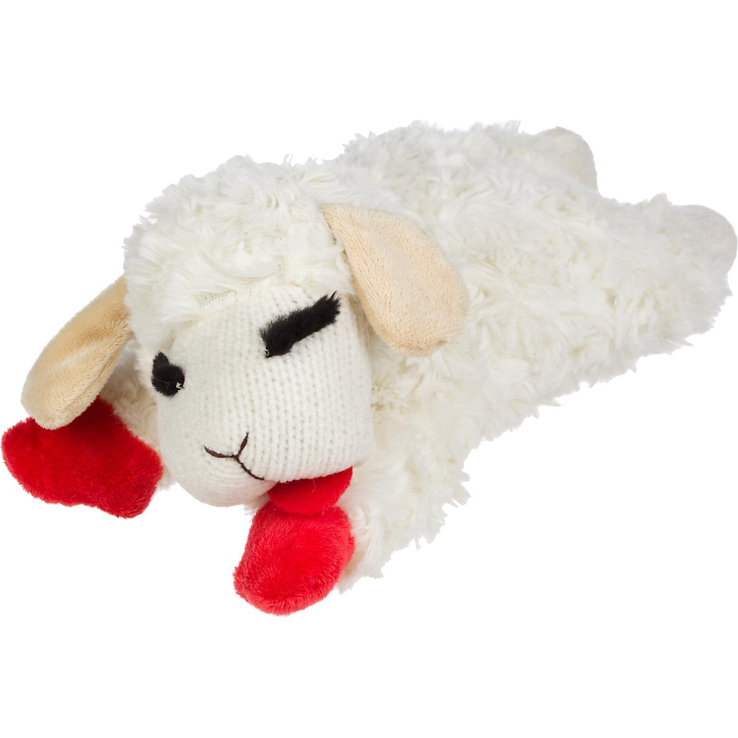 Dog Toy - Lamb Chop - Squeaker Toy - 4 Sizes