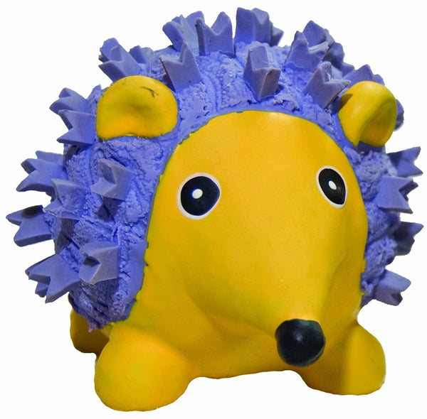 Dog Toy - Latex Toy - Ruff Tex Hedgehog Toy - 2 Sizes