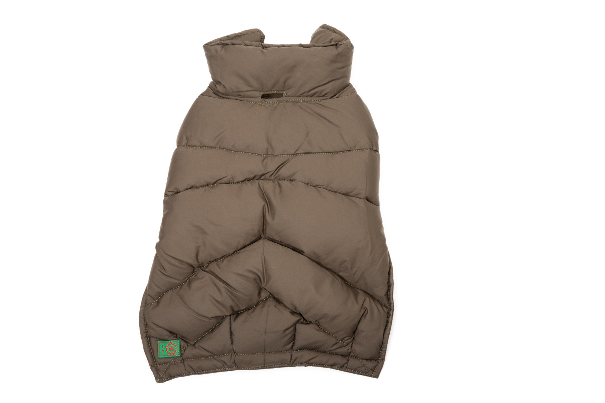 Goose Down Puffer, Orange, Loden, Black