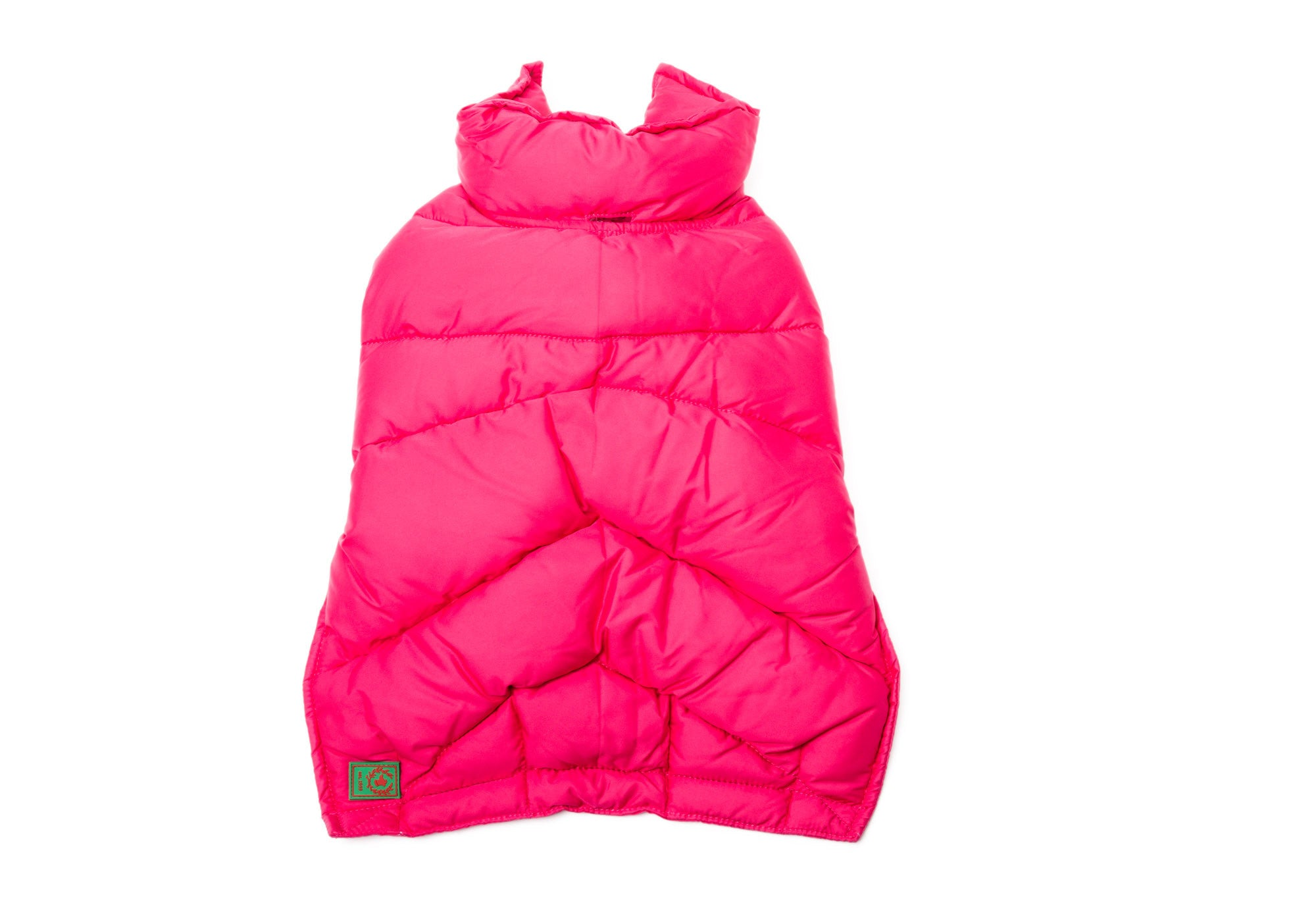 Goose Down Puffer Hot Pink, Navy
