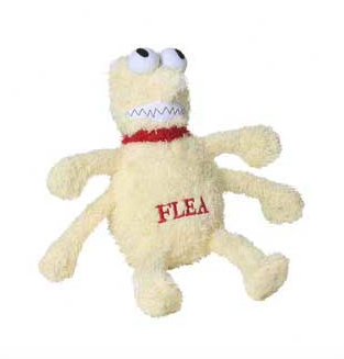 Plush Flea Toy - 2 Sizes