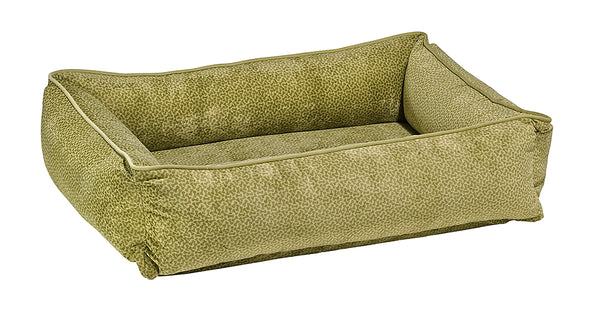 Lounger - Microvelvet - Green Apple Bones - Dog Bed