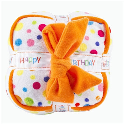 Happy Birthday Gift Box Toy - Dog Toy