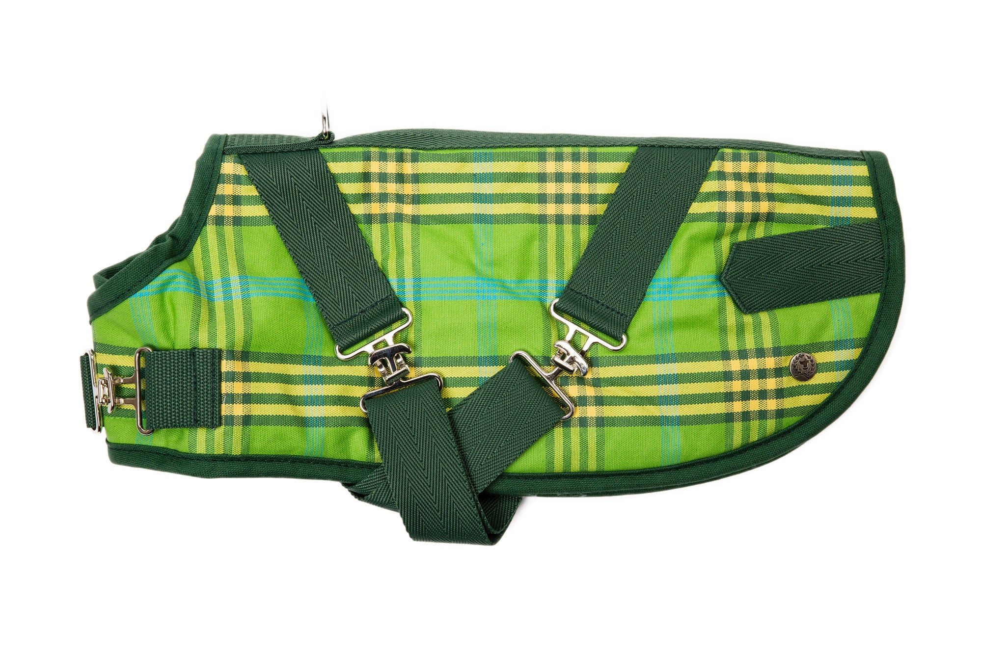 Horse Blanket, Signature Green Plaid