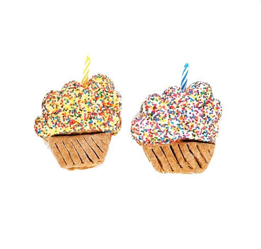 Specialty Treat - Happy Birthday Cupcake - Dog Treat - USA