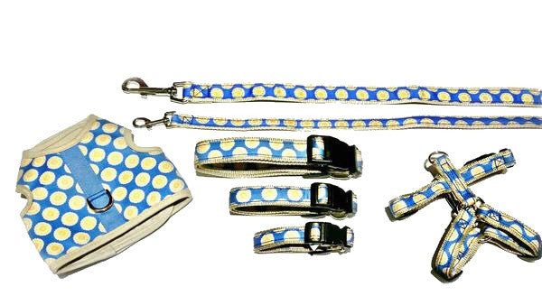 Signature Follard Collection - Dog Collars, Harnesses & Leads - Blue Follard