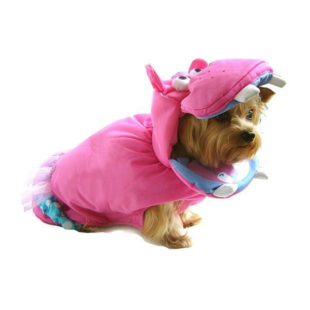 Halloween Costume - Pink Hippo Costume - Dog Costume