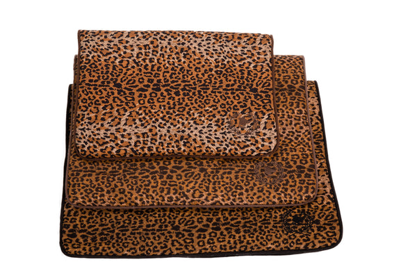 Canine Styles | Crate Mat | Leopard Pattern | Dog Bed