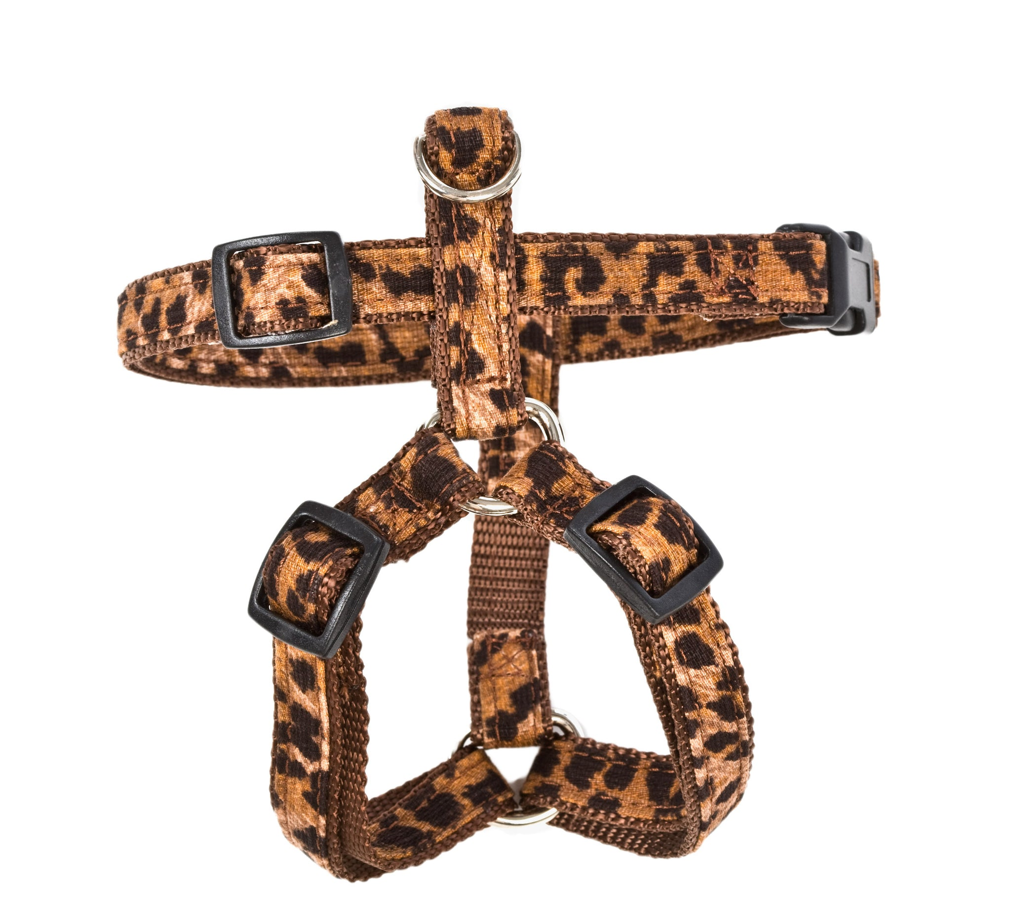 Signature Collection - Dog Collars, Harnesses & Leads - Leopard Cotton